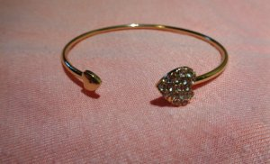 Bangle bronze-colored-white