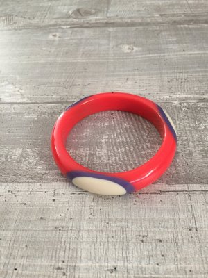 Bangle multicolored synthetic material