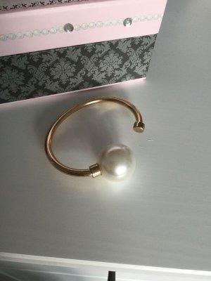 Armreif gold perle