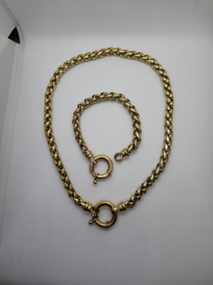 Armreif Halskette Gold Farben