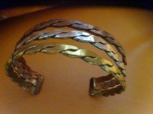Bangle multicolored real silver