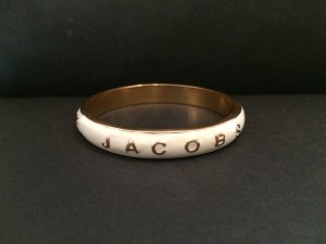 Marc by Marc Jacobs Bangle cream-gold-colored