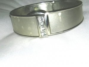 Watch Clasp silver-colored metal