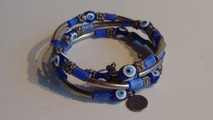 Jonc bleu-argenté