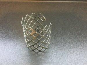 Bangle light grey metal