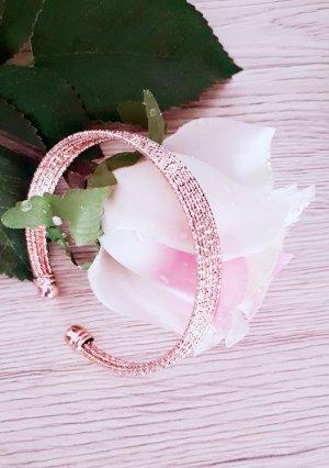 Ajorca color rosa dorado-color oro