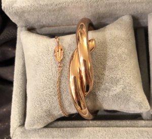 Armreif rosegold Schmuck Armband Set