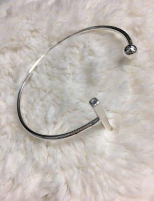 Armband zilver-lichtgrijs