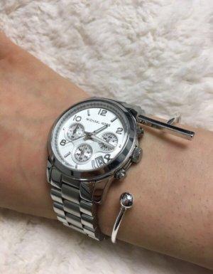 Braccialetto argento-grigio chiaro