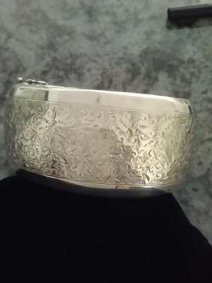Braccialetto in argento argento