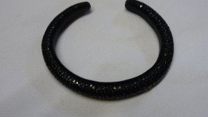 Bangle black leather