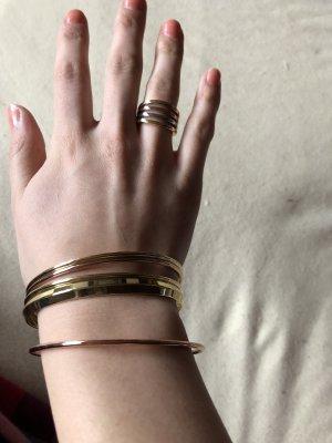 Armreif und Ring von Bimba Y Lola mehrfarbig