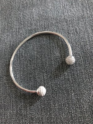 Fossil Bangle silver-colored
