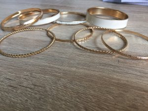 Bangle gold-colored-cream