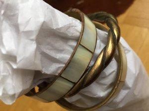 Bangle brons-licht beige