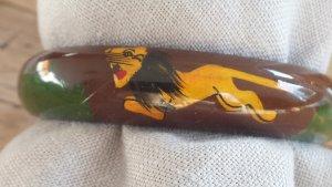 Armreifen aus Holz, handbemalt, Indien