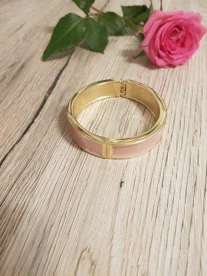 Armreifen gold/rosa