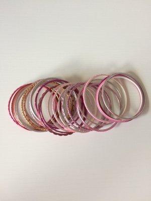 Armreifen * rot/pink * von Ibiza