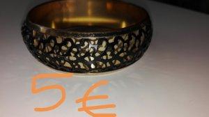 Gold Bracelet black-gold-colored