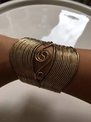 Mango Gold Bracelet gold-colored