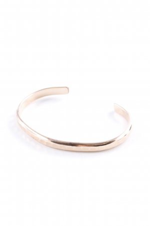 "Bracelet de bras ""David Smallcombe 14k roségold filled thick hammered cuff small"""