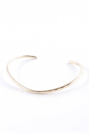 "Bracelet de bras ""David Smallcombe 14k yellow gold filled thin hammered cuff small"""