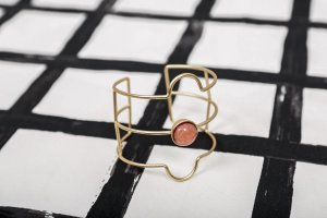 Armlet gold-colored-pink