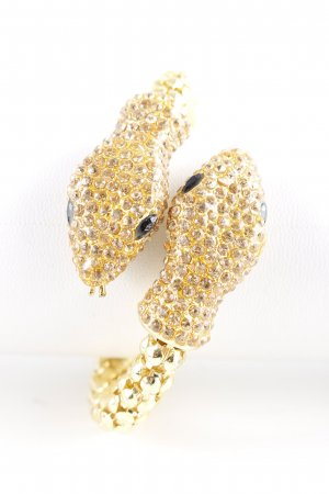 Armlet gold-colored extravagant style