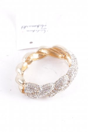 Armlet gold-colored-silver-colored elegant