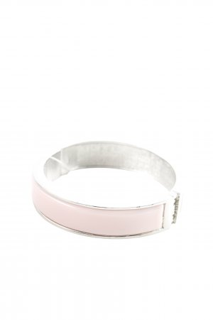Armlet silver-colored-pink casual look