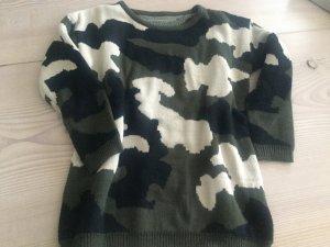Army Camouflage Pulli in Gr. XS S kleiner M von Sheinside