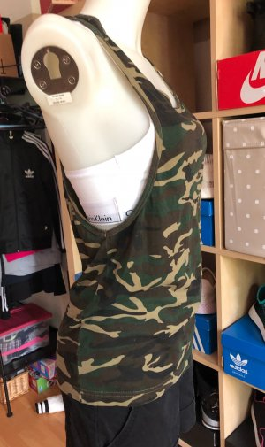 Army Cut-Out Top S