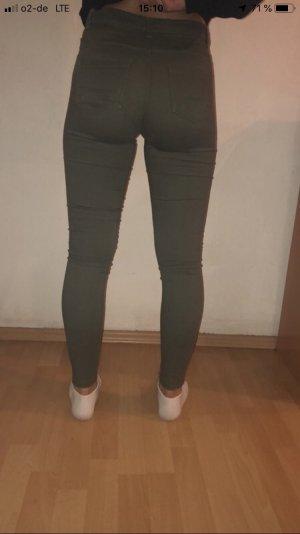 Tube Jeans khaki-green grey