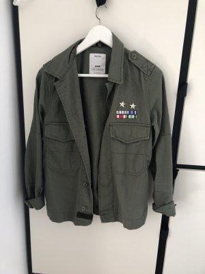 Army Jacke mit Verzierung