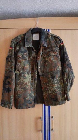 Army Military Jacke mit Perlenstickerei Perlenverzierung Größe 36 S