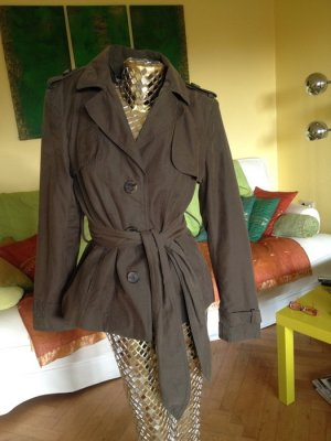 Zara Jacket green grey