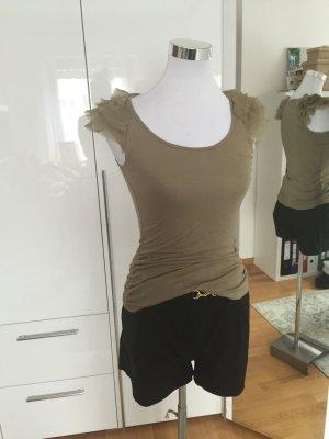 Armygrünes T-Shirt von 3suisses in Größe 34/36.