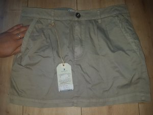 Arqueonautas Cargo Skirt camel cotton