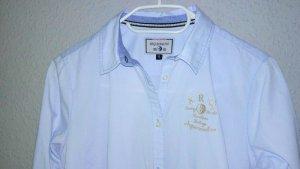 Arqueonautas Long Sleeve Blouse azure-cornflower blue mixture fibre