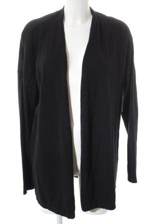 Arqueonautas Cardigan schwarz schlichter Stil