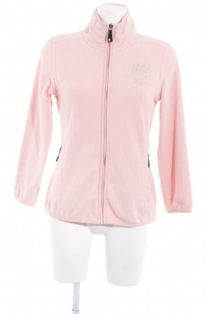 Arqueonautas Fleece Jackets pink-cream fluffy