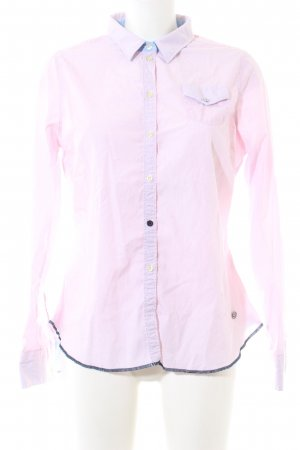 Arqueonautas Hemd-Bluse pink Business-Look