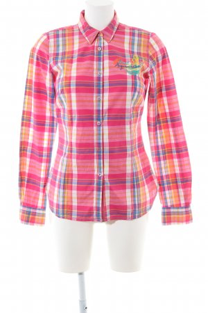Arqueonautas Checked Blouse allover print casual look