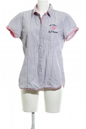 Arqueonautas Short Sleeved Blouse striped pattern casual look