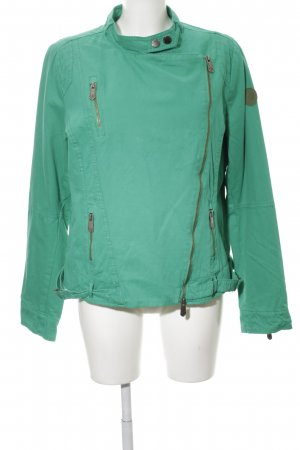 Arqueonautas Short Jacket turquoise street-fashion look