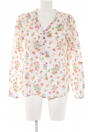 Arqueonautas Long Sleeve Blouse floral pattern casual look