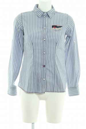 Arqueonautas Long Sleeve Blouse striped pattern casual look
