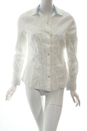 Arqueonautas Blusa de manga larga blanco look casual
