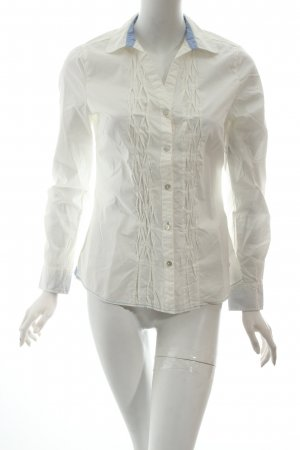Arqueonautas Long Sleeve Blouse white casual look