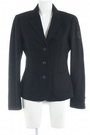 Arqueonautas Long-Blazer schwarz Business-Look